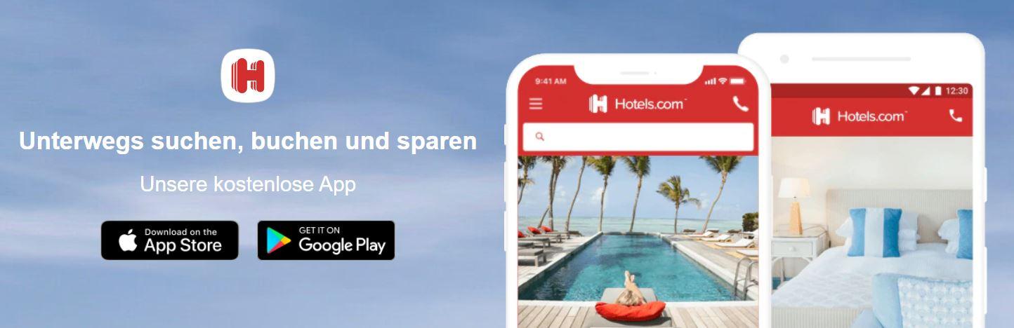 App von Hotels.com