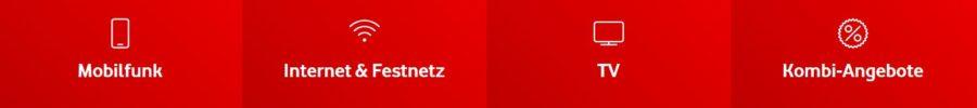 Angebote bei Vodafone