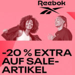 🔥 Reebok: Sommer-Sale mit bis zu 50% Rabatt + 20% extra Rabatt auf Sale