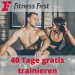 🏋️♀️ Fitness First: 40 Tage kostenlos testen & trainieren