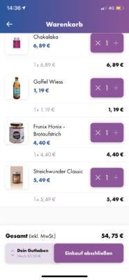 go2market App Einkauf