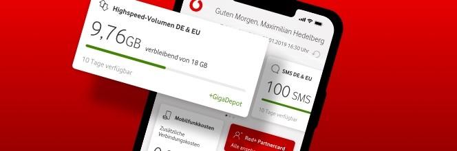 Vodafone-App