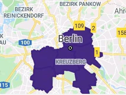 getir map