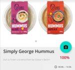 Gratis testen: Simply George Hummus *lokal Berlin*