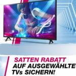 📺 15% Rabatt auf ausgewählte TVs - auch auf Sale (Sony, LG, Samsung uvm.)