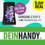 💪 Galaxy Z Flip 3 / S21 / OnePlus 9 Pro + 120GB LTE / 5G Allnet für mtl. 35,99€ + o2 connect (Daten auf bis zu 10 SIM-Karten teilen) - o2 Free L Boost