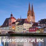 ♿️ Regensburg: 1 Nacht + Frühstück im barrierefreien Hotel Includio für 89€
