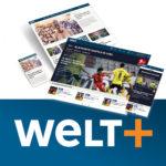 🌐 WELTplus Premium – Monatsabo für 6,99€ (statt 10€) ⚽️ inkl. Bundesliga-Highlights