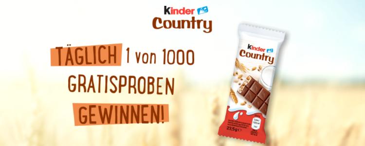 kinder Country gratis testen
