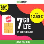 *Telekom-Netz* 👍 7GB LTE Allnet-Flat für 10€ + 0,00€ AG (oder 10GB für 15€ / 15GB für 20€) - HIGH-Tarife von Deinhandy / Sparhandy