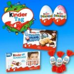 *GRATIS* 🍫 Ferrero kinder Produkt kostenlos testen - nur heute (18.09.)