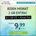 *NEU* ⭐️ Mtl. kündbar: 10GB LTE Allnet für 9,99€ ⏰ max. bis zum 21.09., 11 Uhr - handyvertrag.de im o2-Netz