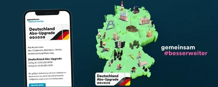 Deutschland Abo-Upgrade