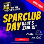 SportSpar SparclubDay: Kauf 3 zahl 2 - jetzt Mitglied werden