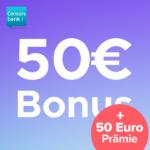 🔥 Hammer: 100€ Bonus für kostenloses* Consorsbank Girokonto!