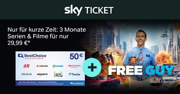 sky ticket 3Monate uebersicht