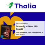 Thalia: 13% Rabatt auf Spielwaren,  Filme, Software, Schreibwaren, tolino, Hörbücher, nicht preisgebundene Bücher und Kalender