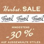 👜 📿⌚️ Fossil: mindestens 30% auf ausgewählte Styles