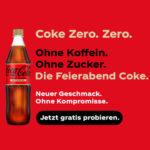 GRATIS: 2x Coca-Cola Zero Koffeinfrei gratis probieren