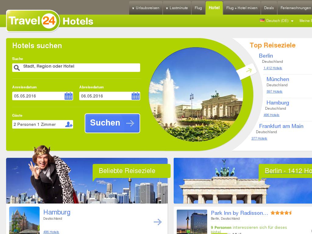 Travel24 Hotels