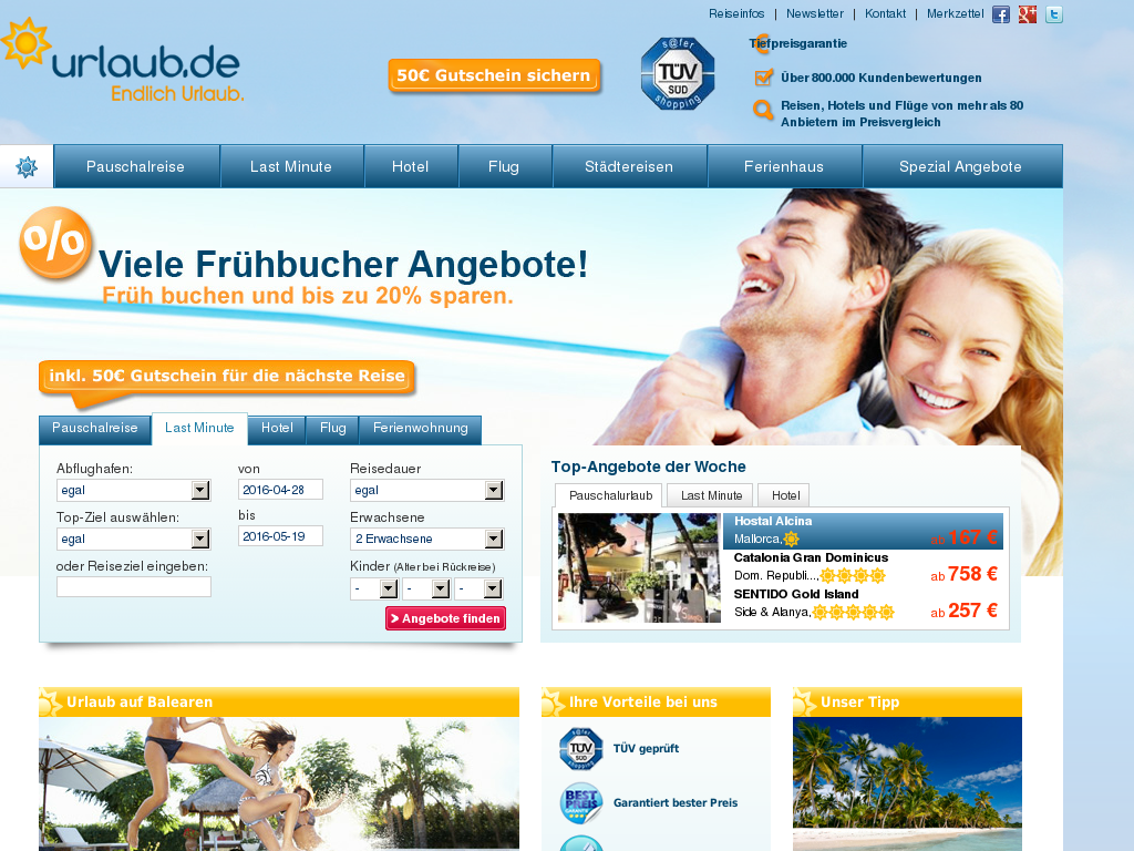 Urlaub.de