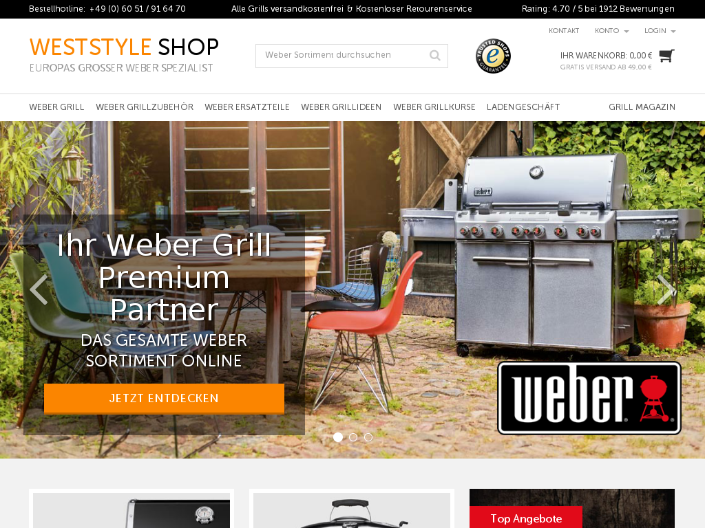 Weststyle Weber Grill