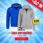 Mizuno Full Zip Hoodie in Farben für Damen & Herren