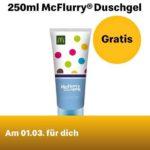🍦 GRATIS: McFlurry Duschgel in der Mc Donald's App