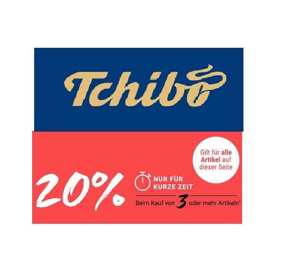 ce6927c120 Tchibo: 20% Extra-Rabatt im Sale - Beim Kauf ab 3 Artikeln