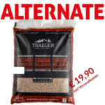 Traeger Hartholz Pellets SIGNATURE BLEND 9kg zum Angebotspreis von 19,99 € inkl Versand (Preisvergleich 23,89 €)