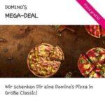 GRATIS: Dominos Pizza Classic bei Abholung - Telekom Mega Deal