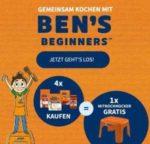 GRATIS Uncle Ben's® Mitkochhocker bei Kauf von 4 Uncle Ben's® Produkten (28.08.-30.11.2018)