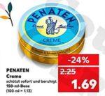 Kaufland...Penaten Creme mit Cashback 0,45 Euro für nur 1,24 Euro