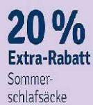 20% auf Sommerschlafsäcke bei Mytoys