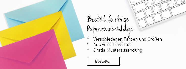 GRATIS Briefumschläge + Versandtaschen (verschiedene Größen und Farben)