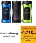 """Freebate bei Reebate """"GRATIS AXE Duschgel (250ml) im Wert von 1,79€"""