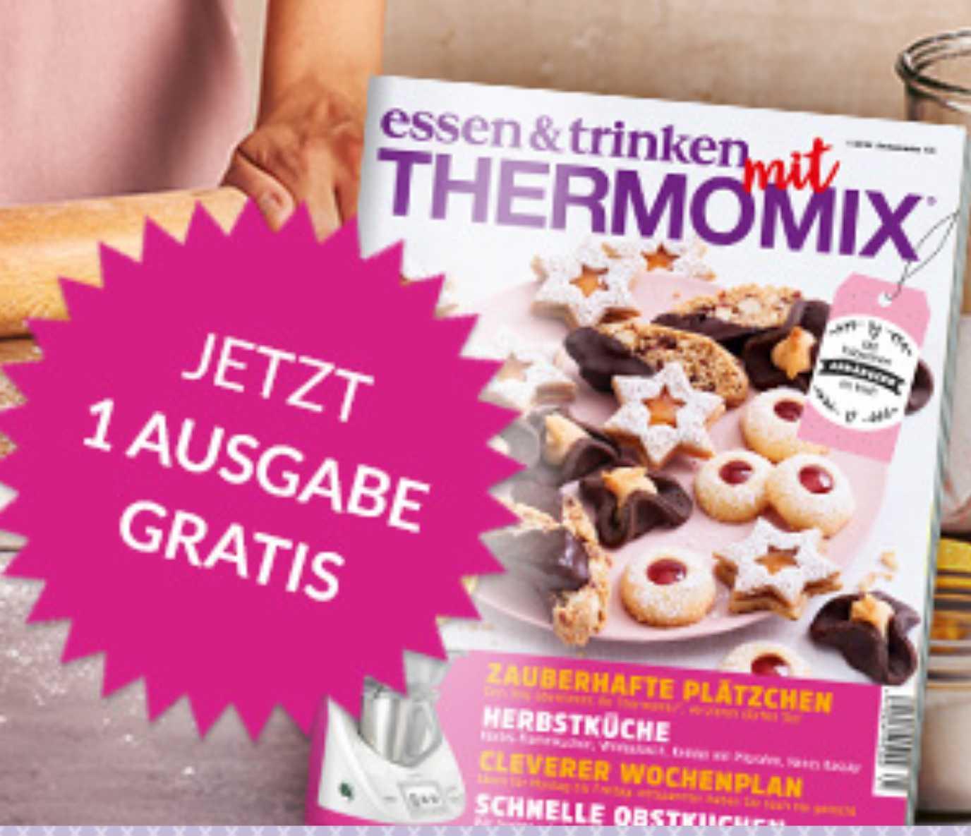 Gratis Ausgabe Der Zeitschrift Essen Trinken Mit Thermomix Statt 490
