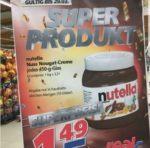 [Offline] Nutella für nur 1,49 Euro bei Real,-