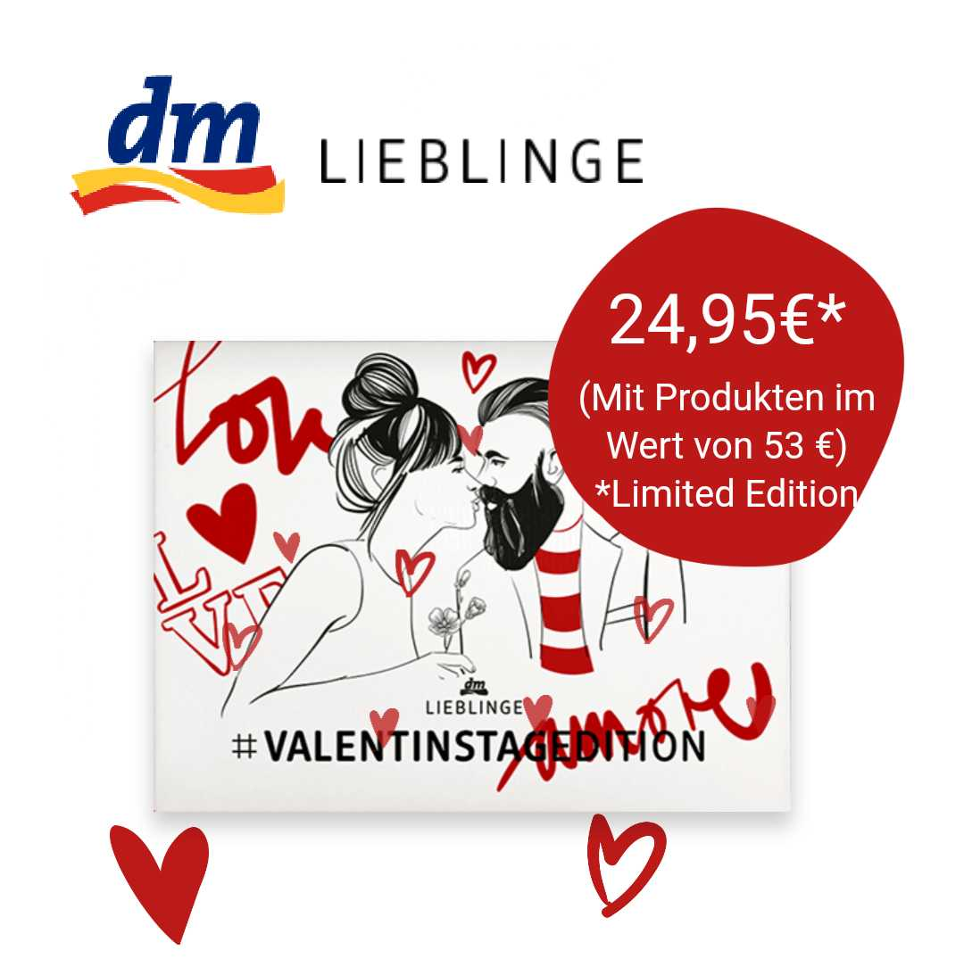 Dm Valentinstag Box Edition Schnappchen Blog Mit Doktortitel