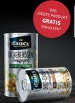 Beim Kauf von 2 d'aucy Produkten das teurere GRATIS erhalten