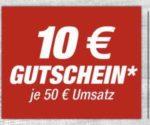 Toom - 10€ Gutschein je 50€ Umsatz mit Toom Vorteilskarte