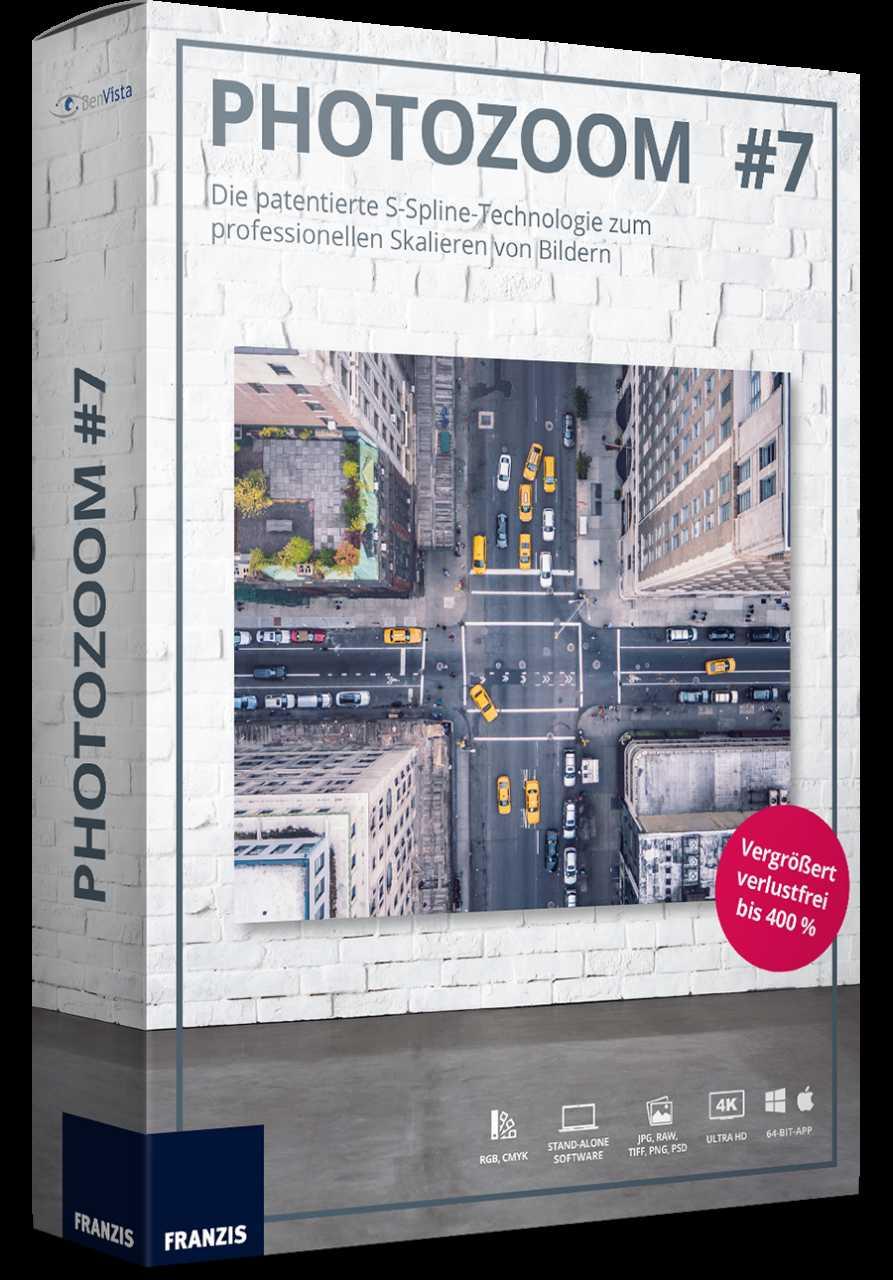PhotoZoom #7 gratis statt 57,97 € (laut Angebot von Heise soll es ...