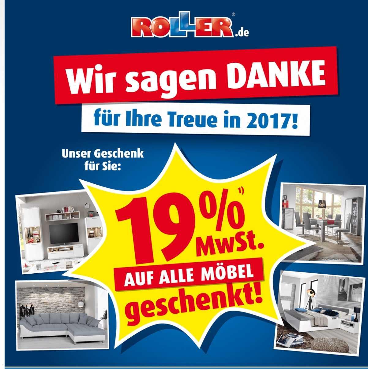 Roller 19 Auf Alle Möbel Verlängert Bis 0801 Schnäppchen Blog