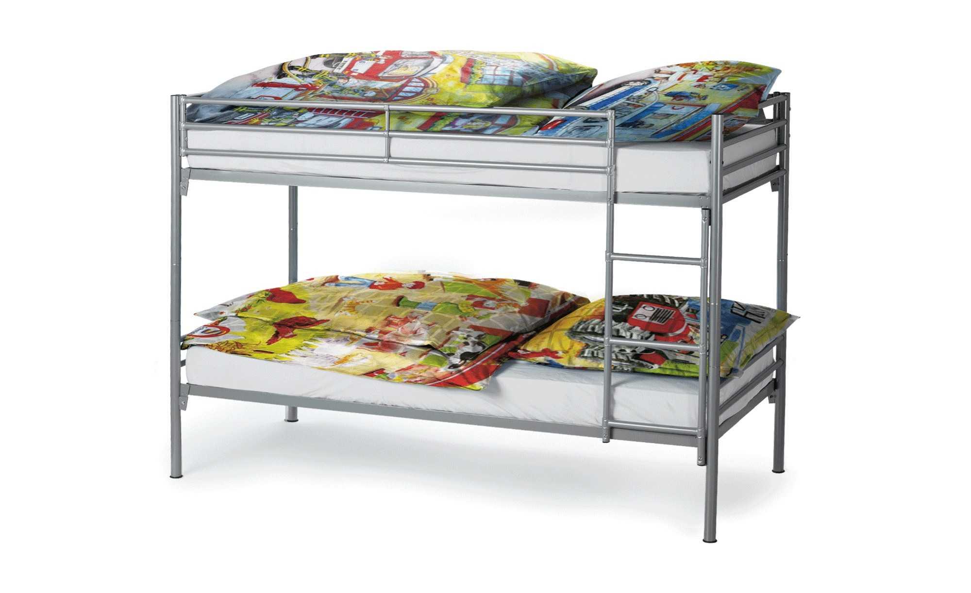 etagenbett aus metall f r 39 bei sconto offline. Black Bedroom Furniture Sets. Home Design Ideas