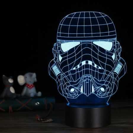 3d Effekt Led Lampe 11 Varianten Star Wars Etc Tomtop