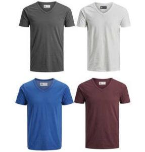 4er-pack-jack-jones-t-shirts-mit-v-neck-versch-farbkombis