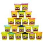 Hasbro Play-Doh 20er Farben-Set Knete für 9,99€ (mit Prime, sonst +VSK) (statt 13€)