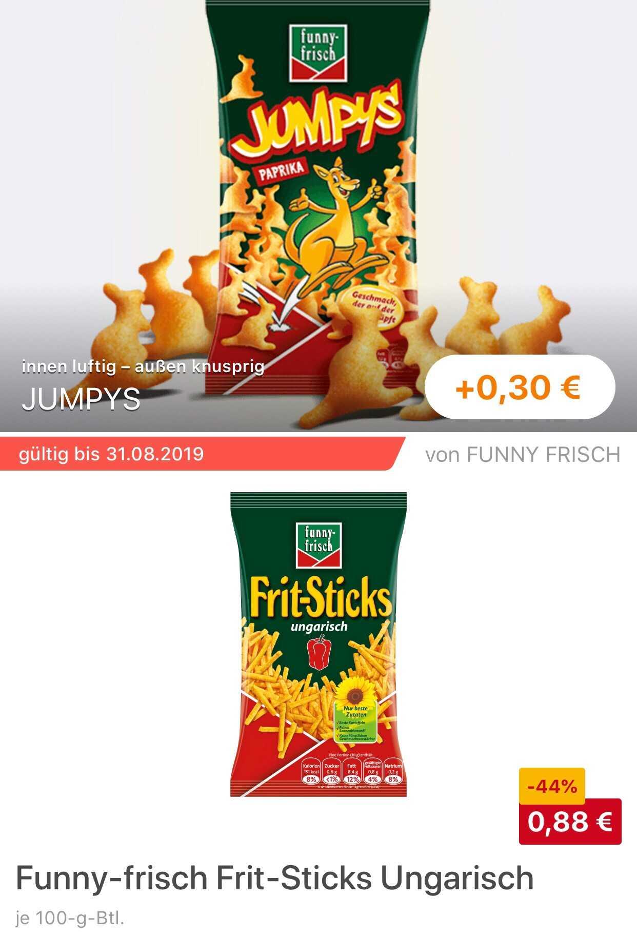 Jumpys Funny Frisch