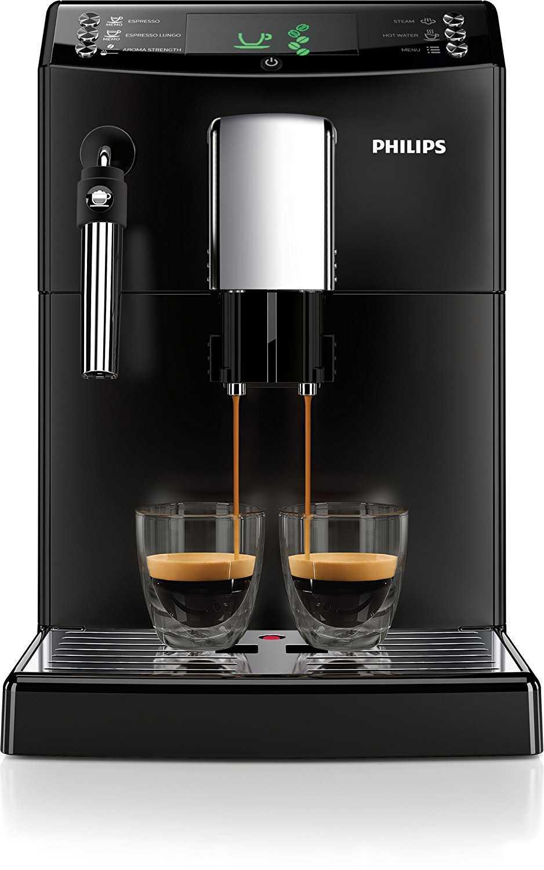 philips hd8831 01 3100 serie kaffeevollautomat klassischer milchaufsch umer schwarz bei. Black Bedroom Furniture Sets. Home Design Ideas