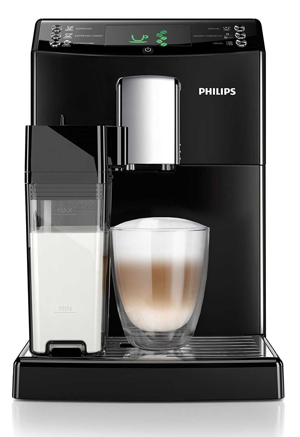 philips hd8834 01 kaffeevollautomat integrierte. Black Bedroom Furniture Sets. Home Design Ideas